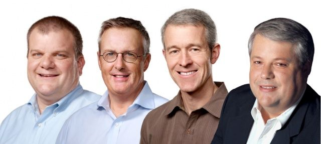 Four of the five highest paid executives work at Apple in the U.S