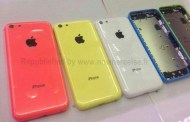 iPhone Plastic housing appeared in different colors