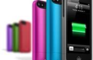 Mophie announced a line of colorful covers Juice Pack Helium for iPhone 5