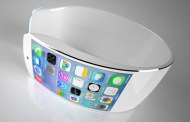 iWatch futuristic concept with flexible display and iOS 7 [Video]