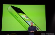 Apple published the brand new iPhone 5C in 5 colours