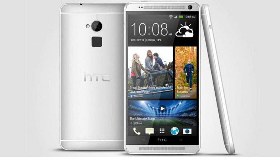 HTC formally presented the HTC One Max smartphone with ...