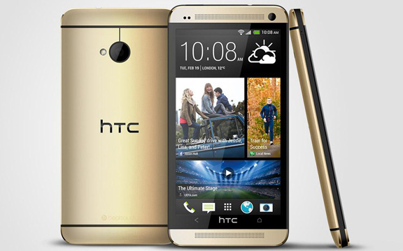 HTC-one-gold-1