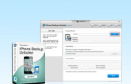 iPhone Backup Unlocker permits crack the password from iPhone and iPad backup