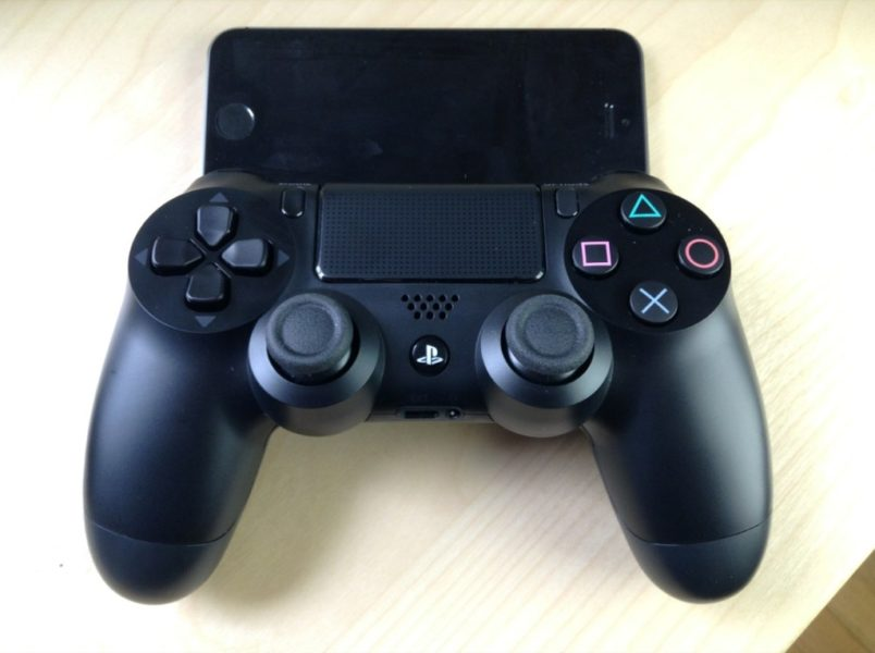 Controllers For All Allows PS4 Controller DualShock 4 To Connect The IPhone And IPad On IOS 7