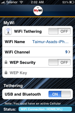 Enable Internet Tethering on iPhone 3.1.2