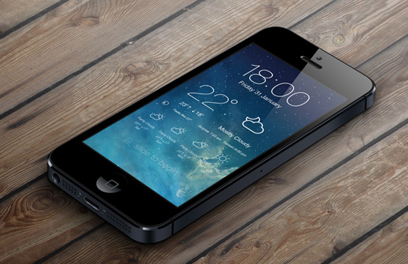 iOS-7-LockScreen-Weather-1