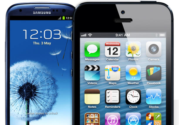 iphone5 GalaxyS5