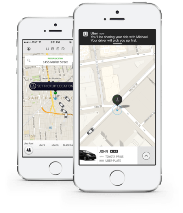 UberPool-iPhone