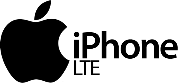 LTE-iPhone-logo