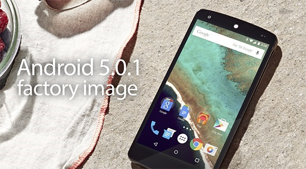 Download Android 5.0.1 Lollipop Factory Image For Nexus 5 [Direct Li