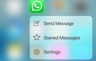 WhatsApp For iOS Update Now Features 3D Touch Support For iPhone 6s