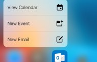 Microsoft Outlook gets 3D Touch support for the iPhone 6s