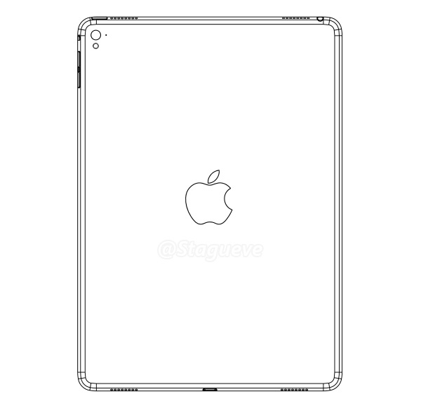 iPad Air 3 Leaked Design Shows 4 speakers and flash for