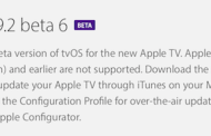 Apple launches tvOS 9.2 beta 6 for developers