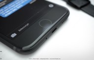 Concept Of The Rumored Space Black iPhone 7 With Lightning EarPods