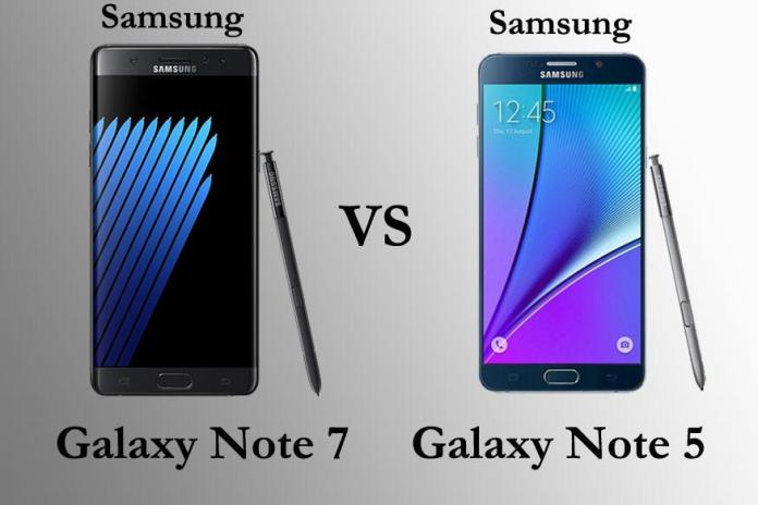 Samsung-Galaxy-Note-7-Vs-Samsung-Galaxy-Note-5