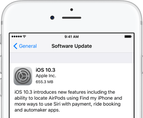 Apple Releases iOS 10.3 For iPhone and iPad Users