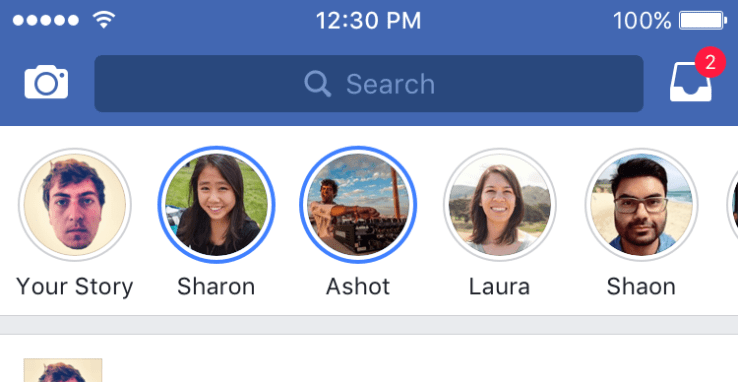 Disable Facebook Stories Feature On iPhone