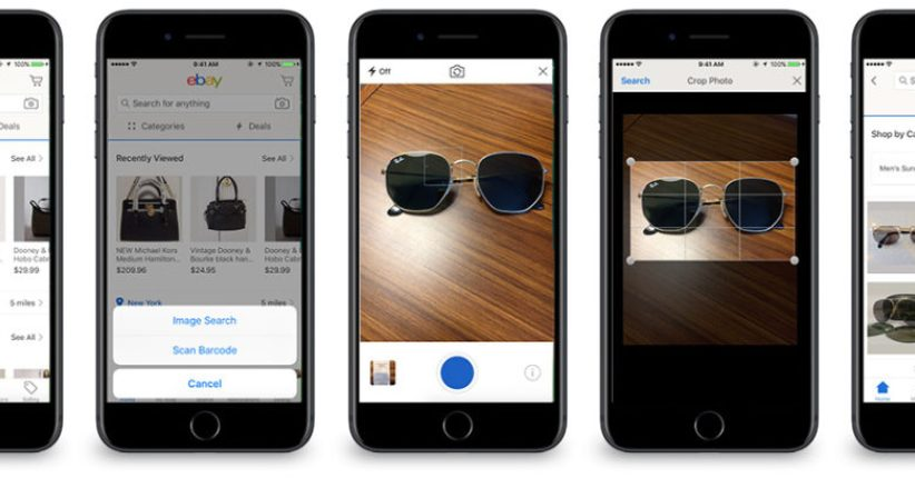 Image Search Coming To EBay's iOS App Soon