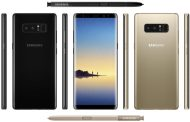 Galaxy Note 8 Design, Rear Fingerprint Sensor & More Revealed