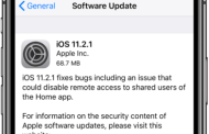Apple Releases iOS 11.2.1 IPSW And OTA Update