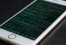 iPhone-Matrix-Code-Exploit