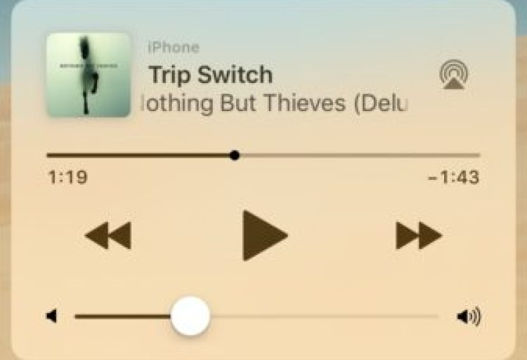 How To Remove Music Player Widget  stuck  On Your iPhone Lock Screen