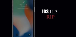 Apple stop signing iOS-11.3