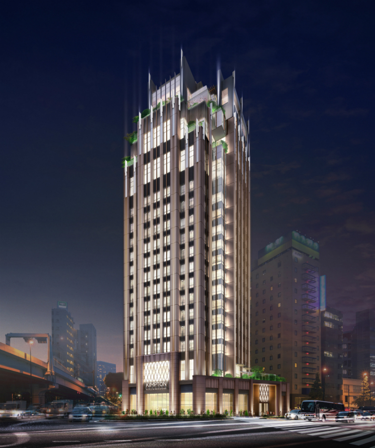Ihg To Treat Tokyo Travellers To A Different Way To Stay