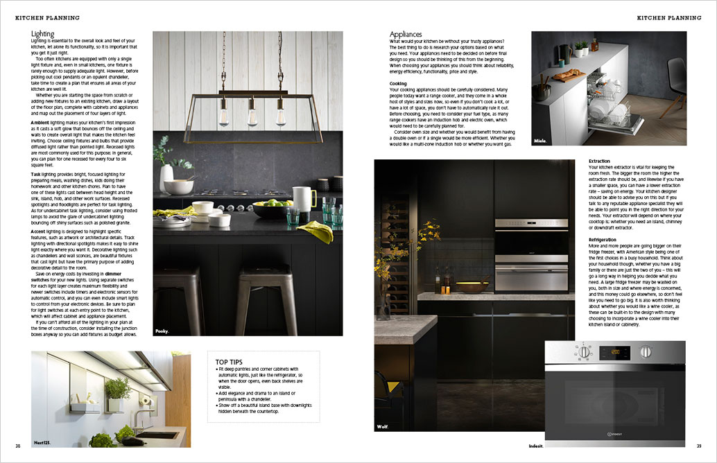 kitchen magazine layout ideas all ireland guide s homes interiors living