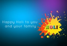 Happy Holi Wishes in English