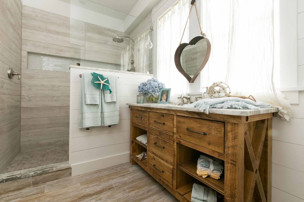Bathroom Beach Style Bathroom Modest On Intended For House Vanities Arabshare Co 16 Beach Style Bathroom Incredible On Within Themed Ideas Awesome Design 10 Beach Style Bathroom Amazing On Pertaining To Awesome