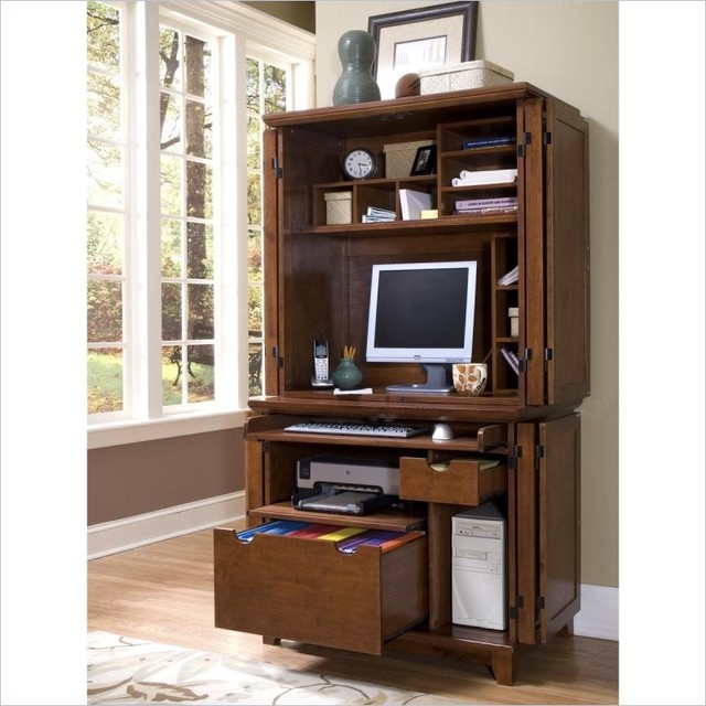 Interior Contemporary Computer Armoire Desk Computer Armoire Contemporary Computer Desk Home Design Decoration