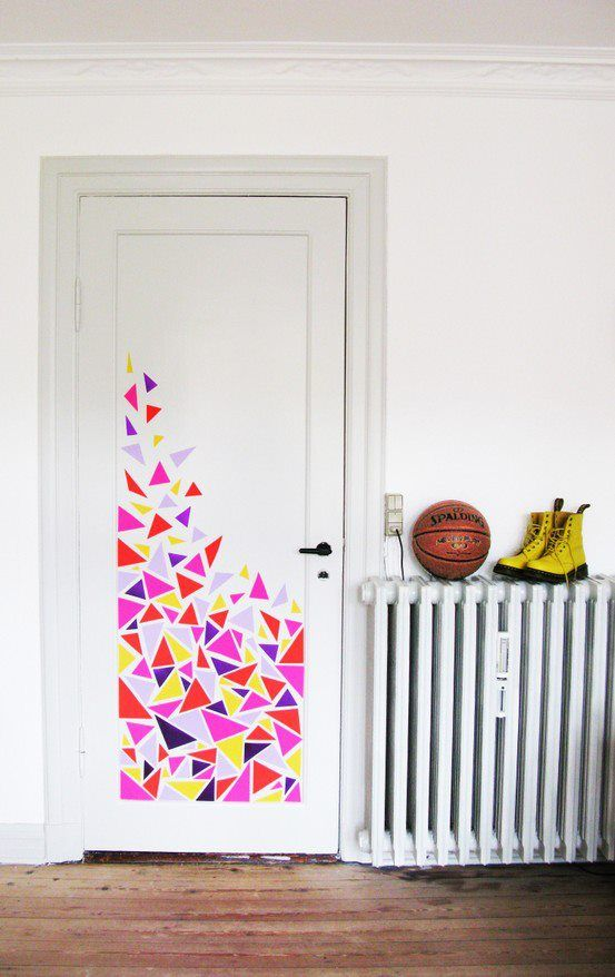 Furniture Cool Door Painting Ideas Perfect On Furniture Pertaining To 418 Best Interior Images Pinterest Home Living Room And 17 Cool Door Painting Ideas Incredible On Furniture With Regard To Handballtunisie Org