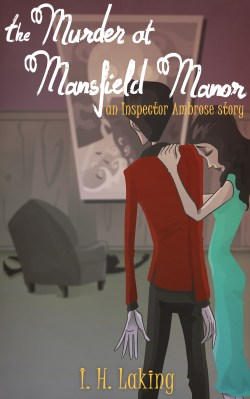 Cover Art for the Murder at Mansfield Manor by Blacksmiley via ArtCorgi Final