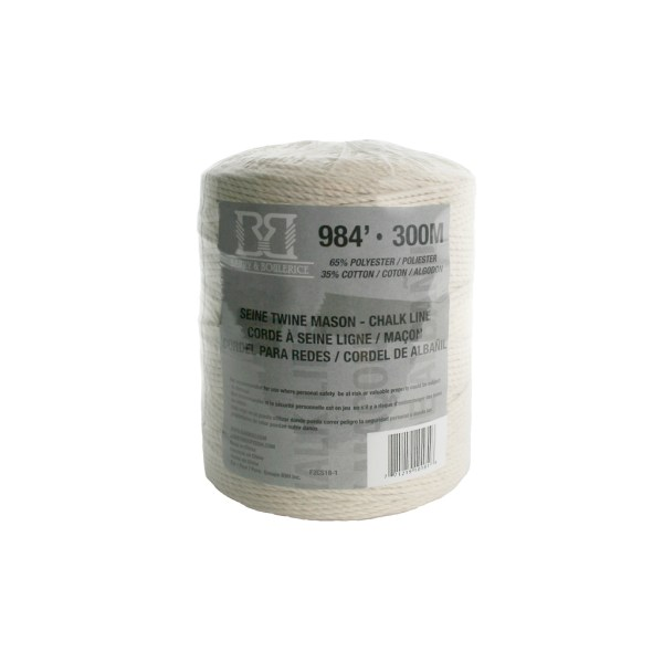 Barry & Boulerice F2cs18 1 #18 X 984 Ft. Twisted Cotton
