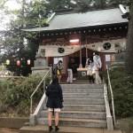 戸室村鎮守子ノ神神社のお祭り