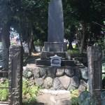 お盆 墓参り 戦争の跡