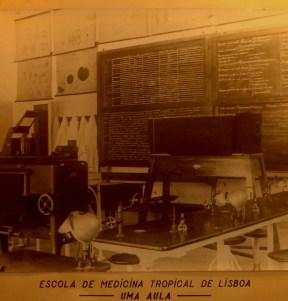 Aula prática da Escola de Medicina Tropical