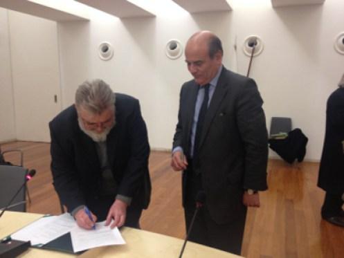 Paulo Ferrinho e António Rendas