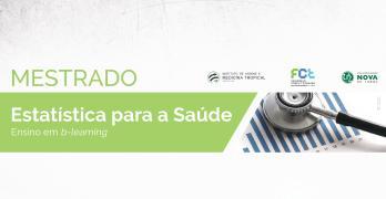 Mestrado em Estatística para a Saúde: Candidaturas a decorrer!