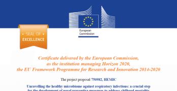 Projeto do GHTM recebe selo de excelência Marie Sklodowska-Curie Actions