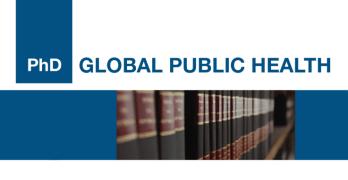 10 bolsas de estudo disponíveis para PhD Global Public Health!