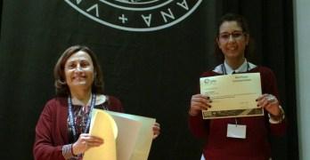 Aluna de mestrado recebe prémio no MICROBIOTEC 17