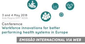 Conferência sobre inovação na força de trabalho em saúde: Apresentações disponíveis para consulta!