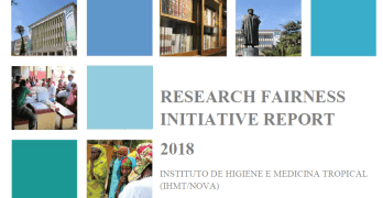 IHMT apresenta relatório Research Fairness Initiative
