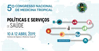 5º Congresso Nacional de Medicina Tropical: Inscrições abertas!