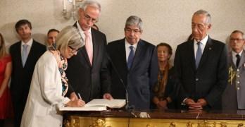 Marta Temido toma posse como Ministra da Saúde