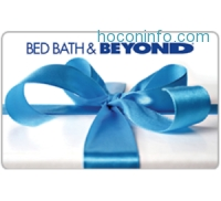 ihocon: $100 Bed Bath and Beyond Gift Card 只賣 $90 - Via Fast Email delivery